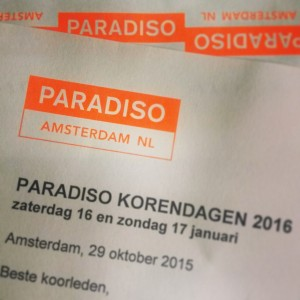 Inschrijving Paradiso Korendagen