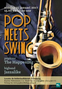 The Happening_Pop Meets Swing_FlyerA5